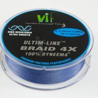 tresse VIF 4 brins bleu